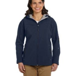 Ladies' Soft Shell Hooded Jacket Thumbnail