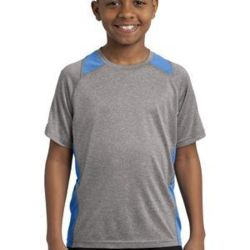 Youth Heather Colorblock Contender ™ Tee Thumbnail