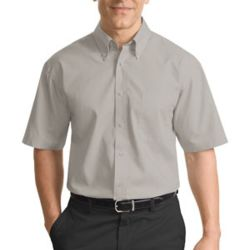 Short Sleeve Value Poplin Shirt Thumbnail