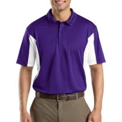 Side Blocked Micropique Sport Wick ® Polo Thumbnail