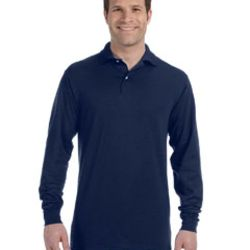 Adult 5.6 oz. SpotShield™ Long-Sleeve Jersey Polo Thumbnail