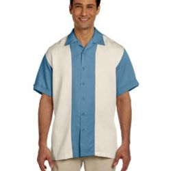 Men's Two-Tone Bahama Cord Camp Shirt Thumbnail