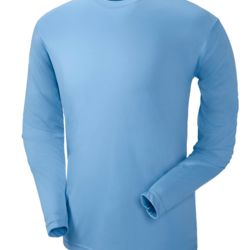 UltraClub® Adult Cool & Dry Sport Long-Sleeve Performance Interlock Tee Thumbnail