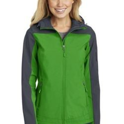 Ladies Hooded Core Soft Shell Jacket Thumbnail