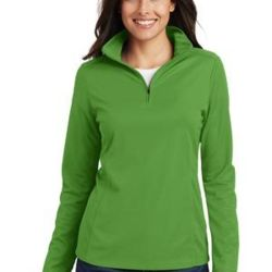 Ladies Pinpoint Mesh 1/2 Zip Thumbnail