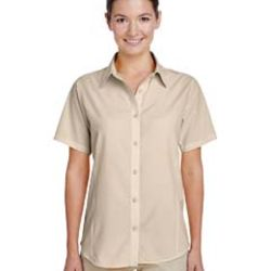 Ladies' Paradise Short-Sleeve Performance Shirt Thumbnail