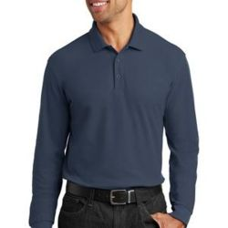 Long Sleeve Core Classic Pique Polo Thumbnail