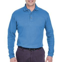 Men's Egyptian Interlock Long-Sleeve Polo Thumbnail