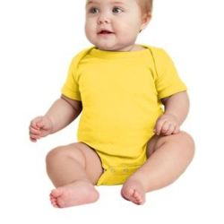 ™ Infant Short Sleeve Baby Rib Bodysuit Thumbnail